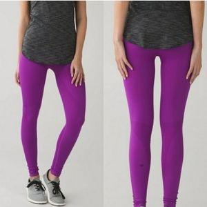 Lululemon Zone In Tight Tender Violet Leggings 4